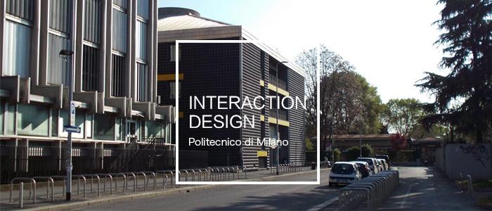 交互留学 | 米兰理工开了交互设计了,而且还是英文授课
