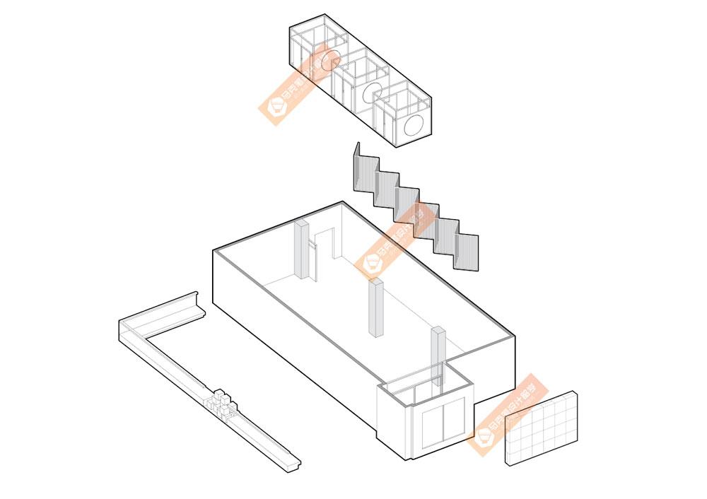 室内手绘柱子画法