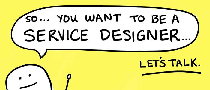 嘿,服务设计的求职者们,我们需要谈谈。